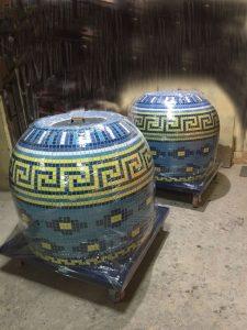 тандыры с мозаикой